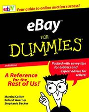 Cover of: eBay for Dummies, Second Edition