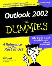 Cover of: Outlook 2002 for Dummies
