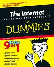 Cover of: The Internet All-In-One Desk Reference for Dummies