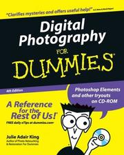 Cover of: Digital Photography for Dummies, Fourth Edition