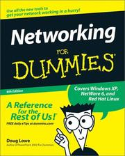 Cover of: Networking for Dummies, Sixth Edition