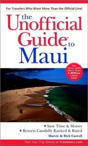 Cover of: The Unofficial Guide to Maui