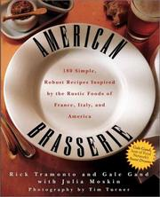 Cover of: American Brasserie