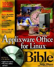 Cover of: Applixware Office for Linux Bible (Bible (Wiley))