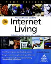 Cover of: Your Official America Online Guide to Internet Living