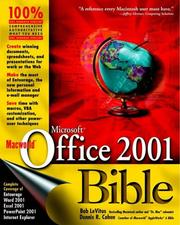 Cover of: Macworld Microsoft Office 2001 Bible