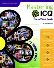 Cover of: Mastering ICQ