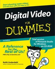 Cover of: Digital video for dummies