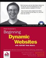Cover of: Beginning Dynamic Websites