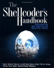 Cover of: The Shellcoder's Handbook