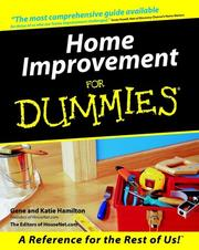 Cover of: Home Improvement for Dummies