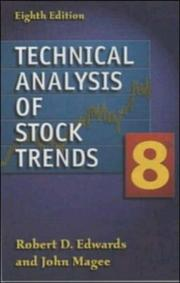 Cover of: Technical analysis of stock trends