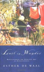 Cover of: Lost in Wonder