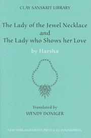 "Cover of: The Lady of the Jewel Necklace"" & ""The Lady who Shows her Love (The Clay Sanskrit Library)"