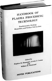 Cover of: Handbook of Plasma Processing Technology