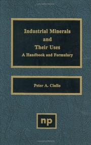 Cover of: Industrial Minerals and their Uses