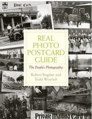 Cover of: Real Photo Postcard Guide