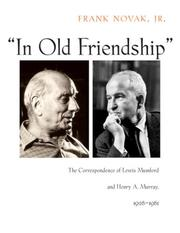 Cover of: In Old Friendship
