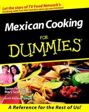 Cover of: Mexican Cooking for Dummies