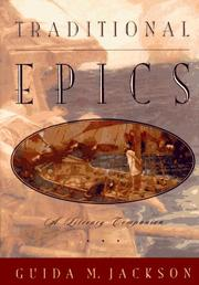 Cover of: Traditional epics