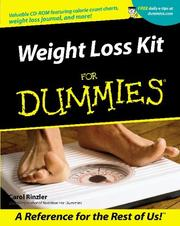 Cover of: Weight Loss Kit for Dummies