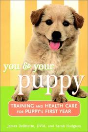 Cover of: You and Your Puppy