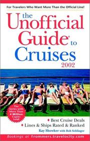 Cover of: The Unofficial Guide to Cruises 2002 (Unofficial Guide to Cruises, 2002)