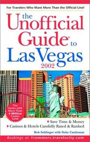 Cover of: The Unofficial Guide to Las Vegas 2002 (Unofficial Guide to Las Vegas, 2002)