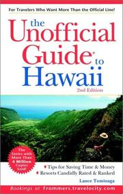 Cover of: Unofficial Guide to Hawaii