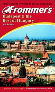 Cover of: Frommer's Budapest & the Best of Hungary