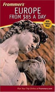 Cover of: Frommer's Europe from $85 a Day, 46th Edition
