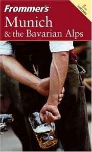 Cover of: Munich & the Bavarian Alps