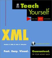 Cover of: Teach Yourself XML