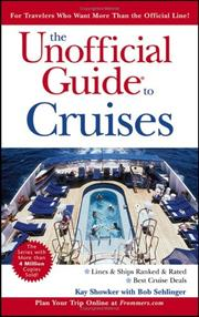 Cover of: The Unofficial Guide to Cruises (Unofficial Guides)