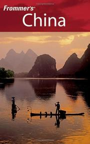 Cover of: Frommer's China (Frommer's Complete)