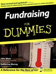 Cover of: Fundraising For Dummies (For Dummies (Business & Personal Finance))