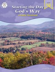 Cover of: Starting the Day God's Way: A Family Devotional: A Family Devotional