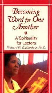 Cover of: Becoming Word for One Another