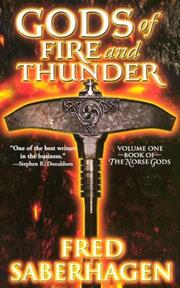 Cover of: Gods of Fire and Thunder (Book of the Gods)