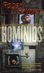 Cover of: Hominids (Neanderthal Parallax)