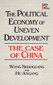 Cover of: The Political Economy of Uneven Development