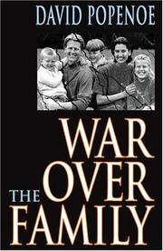 Cover of: War Over the Family