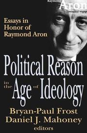 Cover of: Political reason in the age of ideology