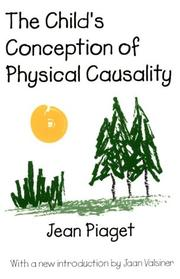 Cover of: The child's conception of physical causality