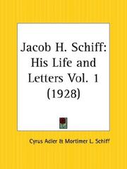 Cover of: Jacob H. Schiff