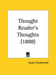 Cover of: Thought Reader's Thoughts