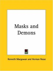 Cover of: Masks and Demons