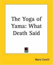 Cover of: The Yoga Of Yama