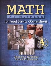 Cover of: Math Principles for Food Service