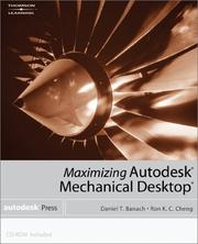 Cover of: Maximizing Autodesk Mechanical Desktop« (Autodesk Mechanical Desktop)